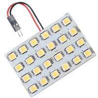 Car Interior Roof Reading Light Bulb 5252 SMD 24-LED White