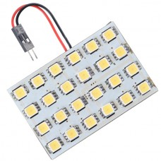 Car Interior Roof Reading Light Bulb 5252 SMD 24-LED White