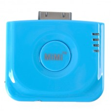MiMi Angel External Power Charger w/ Stand for iPhone & iPod blue