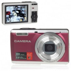 DC-E80 5MP CMOS Digital Camera Anti-Shake Camcorder 8X Digital Zoom SD Carmera