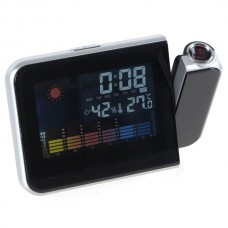 Multi-function LCD Weather Station Temperature Projection Clock