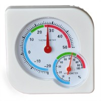 Indoor and Outdoor BaBy Household Thermo-Hygrometer