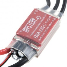 Mystery 120A SBEC Brushless Programable Electrinic Speed Control MYH-120A