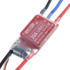 Mystery 20A SBEC/UBEC Brushless Programable Electrinic Speed Control MYH-20A