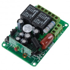 2CH RF Wireless Relay Remote Control Controller Module 315MHz 220V