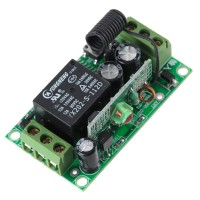 1CH RF Wireless Relay Remote Control Controller Module 315MHz 12V