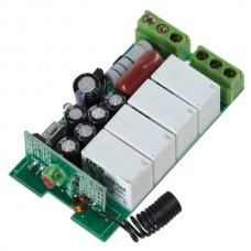 4CH RF Wireless Relay Remote Control Controller Module 315MHz 12V K4AC-X