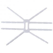 Universal Spider Podium Stand Grip Holder for Mobile iPhone 4 ipod White