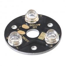 3x1W White LED Lamp Light Parts 6500K 3-LED Orsran 5pcs