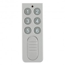 6CH ON-OFF Wall Light/Lamp Wireless RF Radio Remote Control 315MHz
