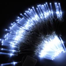 10M White 100-LED Light Decorative Holiday Party Fibre Optic Light 220V
