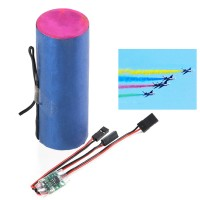 Color Smoke Tube with Igniter for RC Helicopter Plane Aircraft Jet - B