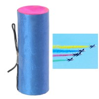 Color Smoke Tube for RC Helicopter Plane Aircraft Jet 40s (Yellow)