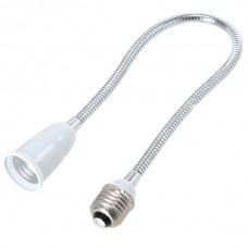 E27 to E27 Flexible Lamp Bulb Holder Socket Adapter Converter 50cm