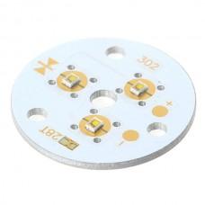 3x1W White LED Lamp Light Parts 6500K 302