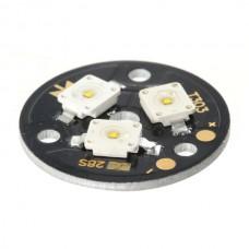 3x1W White LED Lamp Light Parts 6500K T303