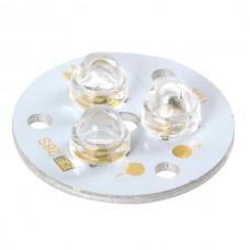3x1W White LED Lamp Light Parts 6500K 301