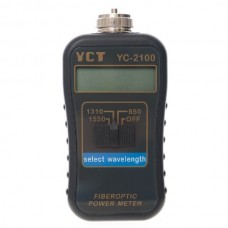 YC-2100 Mini Fiber Optical Power Meter 850/1310/1550nm (MM / SM)