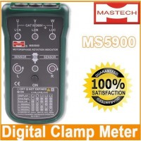 MASTECH MS5900 Motor 3-phase Rotation Indicator Meter