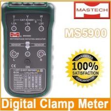 MASTECH MS5900 Motor 3-phase Rotation Indicator Meter