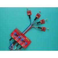 4 Channel Photosensitive Photoresistance Sensor for Light Detection