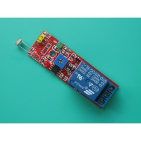 2 in 1 Photosensitive Sensor Module with Relay 5V for Light Detection