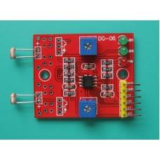 2 Channel Photosensitive Photoresistance Sensor for Light Detection