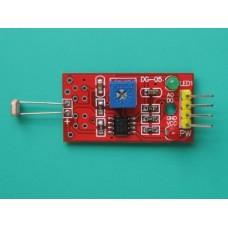 Photosensitive Photoresistance Sensor for Light Detection