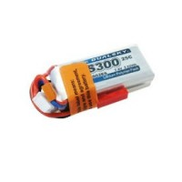 Dualsky XP03002ES 7.4V 300mAh 2S1P 25C Lithium Battery