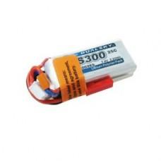 Dualsky XP03002ES 7.4V 300mAh 2S1P 25C Lithium Battery