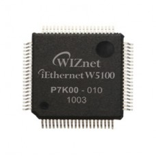 WIZnet W5100 Hardwired TCP/IP Embedded Ethernet Controller