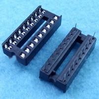 18 pin DIP IC Sockets Adaptor Solder Type Socket (2.54mm) 30PCS/lot