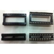 28 Pin 2.54mm DIP IC Sockets Solder Type Adaptors Socket 100PCS/lot