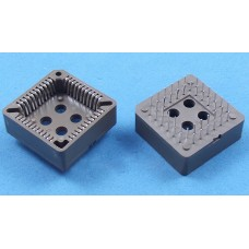 PLCC 44 Through Hole Mount IC Socket/STC SCM socket 10PCS/lot