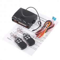 Car Remote Central Lock Kit Locking Keyless Entry System with Remote Controllers