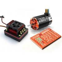 Skyrc Toro 8 X150 Combo 150A ESC+Toro X8T 3D 2250KV Motor w/ Program Card for 1/8 Buggy Car