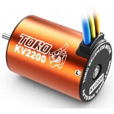 SKYRC Toro 2200KV/4P Sensorless Brushless Motor for 1/10 Car