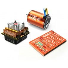 SKYRC Toro10 C120 120A ESC Combo+Toro 5200KV/4P Brushless Motor w/ Programming Card for 1/10 Scale Car