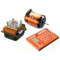 Skyrc Toro10 S120 120A ESC+Ares 3000KV/11.5T/2P Brushless Motor w/ Programming Card for 1/10 Scale Car