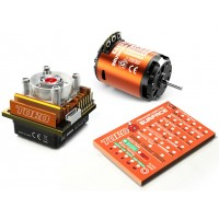 Skyrc Toro10 S120 120A ESC+Ares 2590KV/13.5T/2P Brushless Motor w/ Programming Card for 1/10 Scale Car