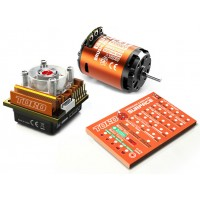 Skyrc Toro10 S120 120A ESC+Ares 7320KV/4.5T/2P Brushless Motor w/ Programming Card for 1/10 Scale Car