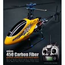 STORM 450 Carbon Fiber Money Prizes output ( RTF ) Gift Package