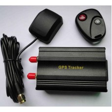 GPS car tracker GPS103B & remote control from factory