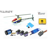 Tarot 450PRO Airplane Helicopter + Tarot GY650 Gyro + 40A ESC(Package 5)