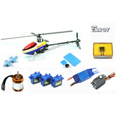 Tarot 450PRO Airplane Helicopter+Tarot GY550 Gyro+40A ESC(Package 7)