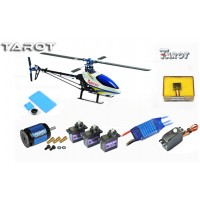 Tarot 450 Sports Airplane Helicopter TL20008+Tarot GY650 Gyro+40A ESC(Package 1)