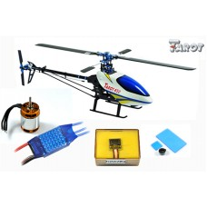 Tarot 450 Sports Airplane Helicopter TL20008+Tarot GY650 Gyro+3680KV Motor(Package 2)