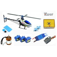 Tarot 450 Sports Airplane Helicopter TL20008+Tarot GY550 Gyro+40A ESC(Package 3)