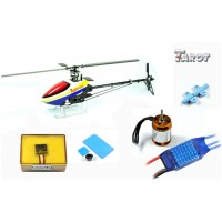 Tarot 450PRO Airplane Helicopter TL20003+Tarot GY650 Gyro+3680KV Motor(Package 6)