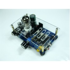Tube 6N11 Headphone Amplifier Pre AMP with Tone Switch